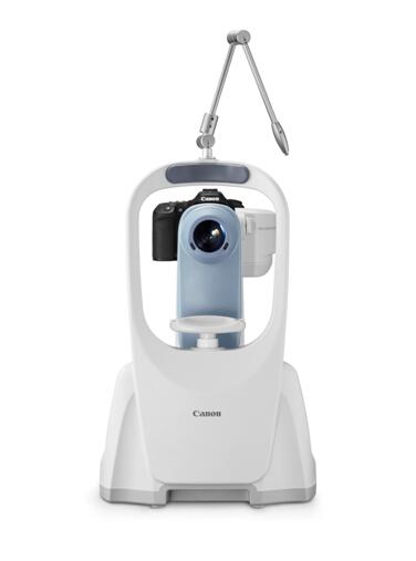 佳能CR-2免散瞳数码眼底照相机-定期进行眼底检查 预防糖尿病致盲