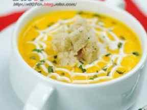 胡萝卜奶油浓汤
