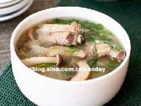 冬瓜蘑菇排骨汤