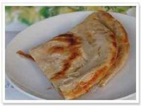 酥酥软软的花生酱烙饼