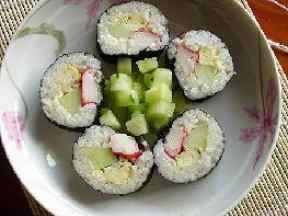 简单的寿司小卷