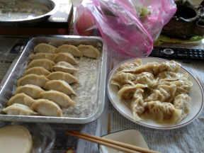 自制手工绍兴高丽菜猪肉水饺