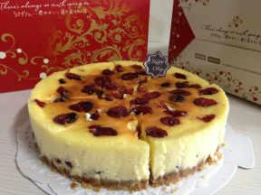 蔓越莓重乳酪蛋糕